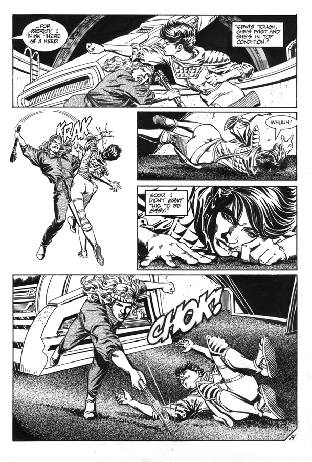 """""""The Babel Cannon Pt 2"""" Pg 14"""